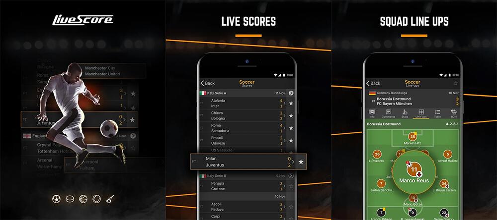 aplikasi hasil pertandingan terlengkap